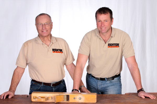 Willi und Ralf Richter